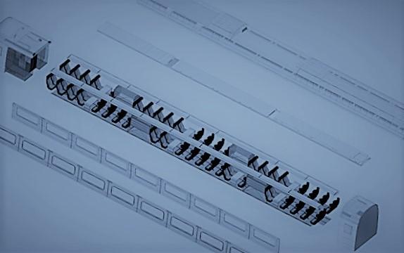 Tren CFD Modelinin Açık Görünümü